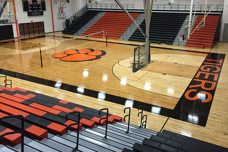 Larson Company - Featured Environments - Gymnasium & Stadium