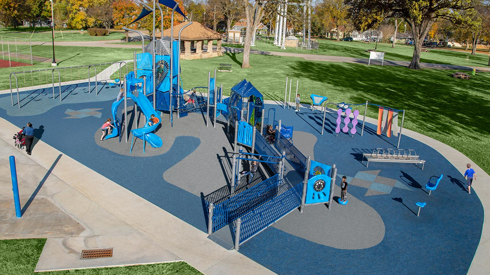 Larson Company - Project Gallery - Playgrounds